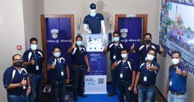 Sri Lanka Ranks 2nd at Allianz World Run, Contributing Towards Countries in Need