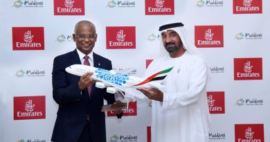 Emirates reaffirms its long-standing partnership with Maldives at Expo 2020